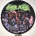 Overkill - Patch - Overkill Taking Over circle patch
