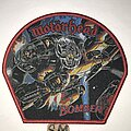 Motörhead - Patch - Motörhead Bomber patch red border