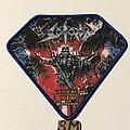 Sodom - Patch - Sodom Genesis XIX patch blue border