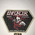 Enforcer - Patch - Enforcer From Beyond 2016 Tour patch