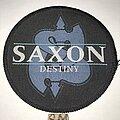 Saxon - Patch - Saxon Destiny circle patch