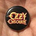 Ozzy Osbourne - Pin / Badge - Ozzy Osbourne button