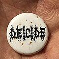 Deicide - Pin / Badge - Deicide button