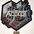 Accept - Patch - Accept Metal Heart patch