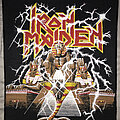 Iron Maiden - Patch - Iron Maiden Powerslave back patch