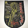 Iron Maiden - Patch - Iron Maiden Killers shield patch