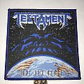 Testament - Patch - Testament The New Order patch blue border