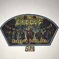 Exodus - Patch - Exodus Blood In Blood Out patch grey border