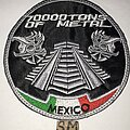 70000tons Of Metal - Patch - 70000tons Of Metal Mexico circle patch