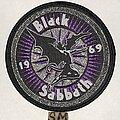 Black Sabbath - Patch - Black Sabbath circle patch