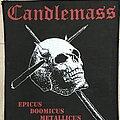 Candlemass - Patch - Candlemass back patch