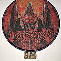 Suffocation - Patch - Suffocation Blood Oath circle patch purple glitter border