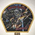 Motörhead - Patch - Motörhead Bomber patch yellow border