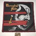 Mercyful Fate - Patch - Mercyful Fate patch red border