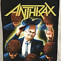 Anthrax - Patch - Anthrax back patch
