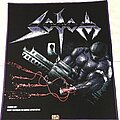 Sodom - Patch - Sodom Tapping The Vein back patch purple border