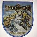 Bolt Thrower - Patch - Bolt Thrower Mercenary shield patch blue border