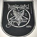 Rotting Christ - Patch - Rotting Christ shield patch grey border