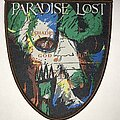 Paradise Lost - Patch - Paradise Lost Shades Of God shield patch brown border