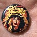 King Diamond - Pin / Badge - King Diamond Fatal Portrait button