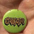 Gwar - Pin / Badge - GWAR button