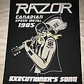 Razor - Patch - Razor Executioner's Song back patch