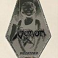 Venom - Patch - Venom Possessed coffin patch silver glitter border