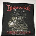 Immortal - Patch - Immortal Damned In Black patch