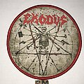 Exodus - Patch - Exodus Atrocity Exhibition B: The Human Condition circle patch red border