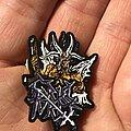 Cruel Force - Pin / Badge - Cruel Force The Rise Of Satanic Might pin