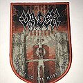 Vader - Patch - Vader Welcome To The Morbid Reich shield patch red border