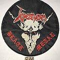 Venom - Patch - Venom Black Metal embroidered circle patch