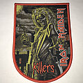 Iron Maiden - Patch - Iron Maiden Killers shield patch red border