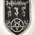 Inquisition - Patch - Inquisition woven patch white border