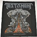 Testament - Patch - Testament Brotherhood If The Snake patch