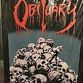 Obituary - Patch - Obituary Pile Of Skulls back patch