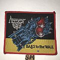 Accept - Patch - Accept Balls To The Wall patch red border