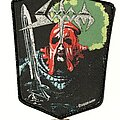 Sodom - Patch - Sodom In The Sign Of Evil patch black glitter border