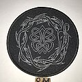Paradise Lost - Patch - Paradise Lost Crown Of Thorns circle patch