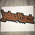Judas Priest - Patch - Judas Priest embroidered back shape