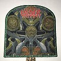 Vader - Patch - Vader The Ultimate Incantation shield patch green glitter border