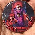 Death - Pin / Badge - Death Scream Bloody Gore button