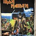 Iron Maiden - Patch - Iron Maiden Stranger In A Strange Land back patch