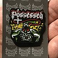 Possessed - Pin / Badge - Possessed The Eyes Of Horror pin