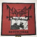 Mayhem - Patch - Mayhem Deathcrush patch