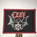 Ozzy Osbourne - Patch - Ozzy Osbourne Speak Of The Devil patch red border
