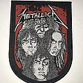 Metallica - Patch - Metallica Cliff 'Em All shield patch
