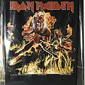Iron Maiden - Patch - Iron Maiden back patch