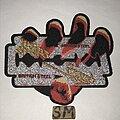Judas Priest - Patch - Judas Priest British Steel cut out patch