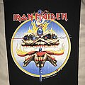 Iron Maiden - Patch - Iron Maiden The Clairvoyant back patch